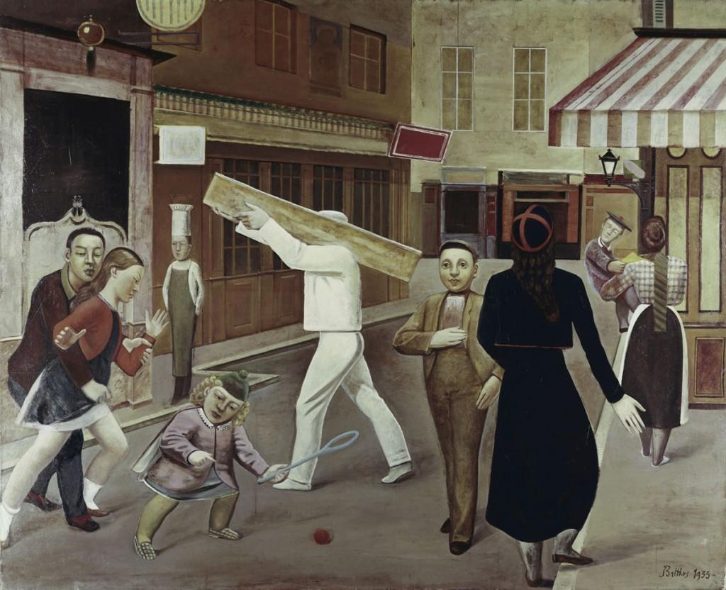 Balthus, La Rue