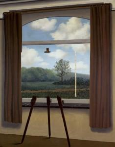 Magritte, <em>The Human Condition</em>