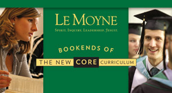 Le Moyne Core Curriculum Bookends pamphlet cover