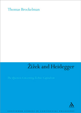 Cover of the book Zizek and Heidegger